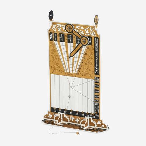 Zegar słoneczny Regiomontanus do samodzielnej budowy