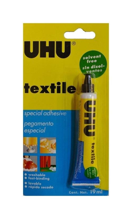Klej do tekstyliów UHU Textlie 19 ml