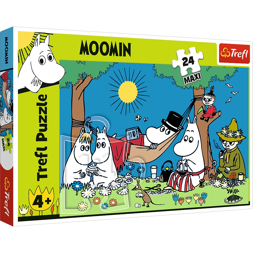 Puzzle Maxi 24: Radosny dzień Muminków (14324)