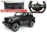 Auto R/C Jeep Wrangler Rubicon 1:14 Rastar czarny