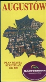 Augustów Plan miasta 1:13 500