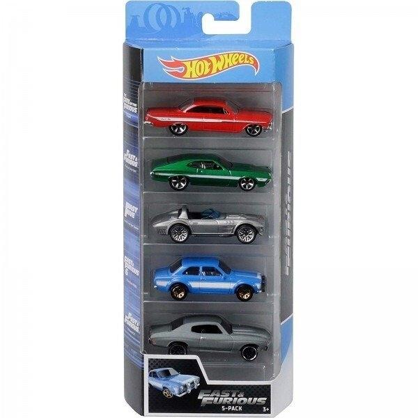 Hot Wheels: Pięciopak - Fast & Furious (01806/FYL16)