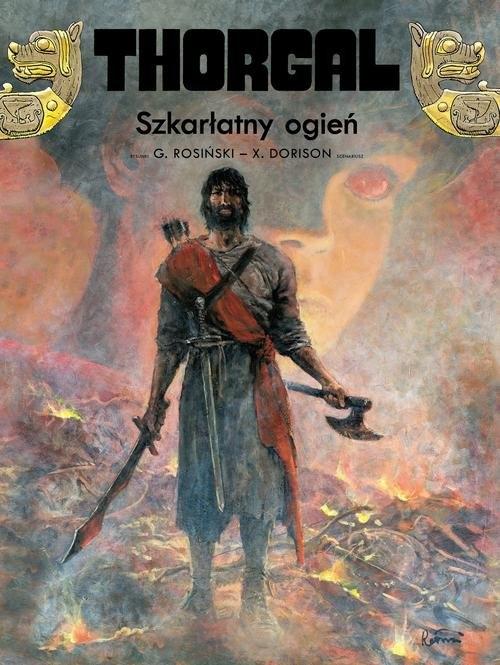 Thorgal Tom 35: Szkarłatny ogień Dorison Xavier