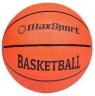 Piłka do koszykówki Max Sport pomarańczowa