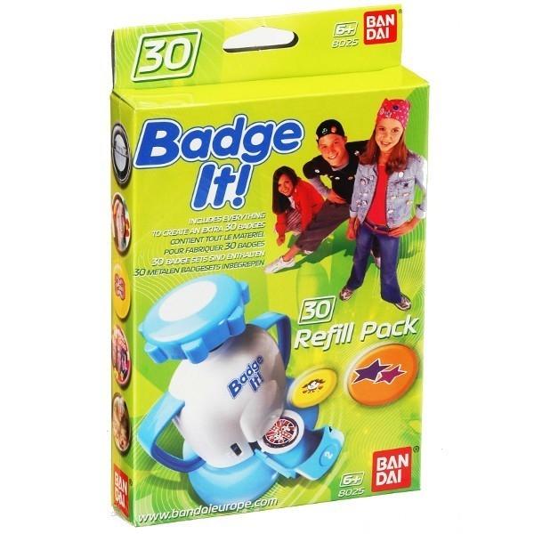 BADGE IT Zestaw Uzupełni ający 30 znaczkó