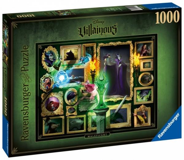 Puzzle 1000 elementów Królewna Śnieżka Czarne charaktery (150250)