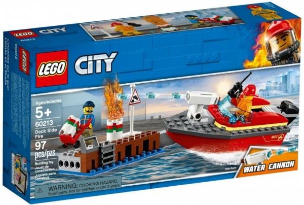 Klocki City Pożar w dokach (60213)
