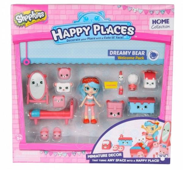 HAPPY PLACES SHOPKINS Zestaw startowy Dreamy Bear (HPP56155A)