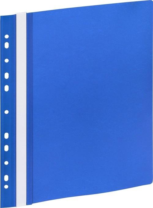 Skoroszyt A4 z europerforacją GR 505E niebieski 10 sztuk