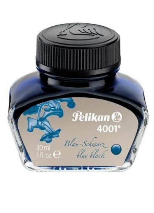 Atrament Pelikan 30 ml - niebiesko-czarny (301028)