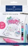 Zestaw startowy Bullet Journal (6x Pitt Artist Pen, zakreślacz, ołówek,