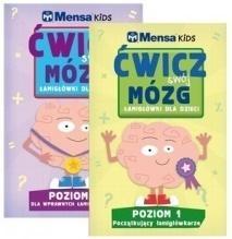 Pakiet Mensa Kids Poziom 1-2 praca zbiorowa