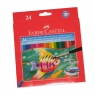 Kredki akwarelowe 24 kolorów - rybka (114425)