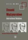 Stosunki Międzynarodowe Tom 50Pamięci Profesora Józefa Kukułki