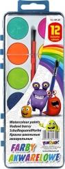 Farby akwarelowe Fun&Joy 12 kolorów