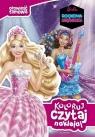 Barbie Rockowa księżniczka Koloruj czytaj naklejaj Jamrógiewicz Marta