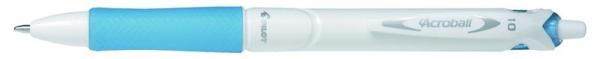 Długopis olejowy Pilot Acroball Pure White Begreen lazurowy (BAB-15M-WSLLB-BG)