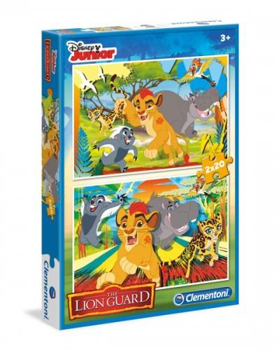 Puzzle 2x20 elementów Lion Guard (07025)