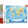 Puzzle 4000: Wielka mapa fizyczna świata (45007)