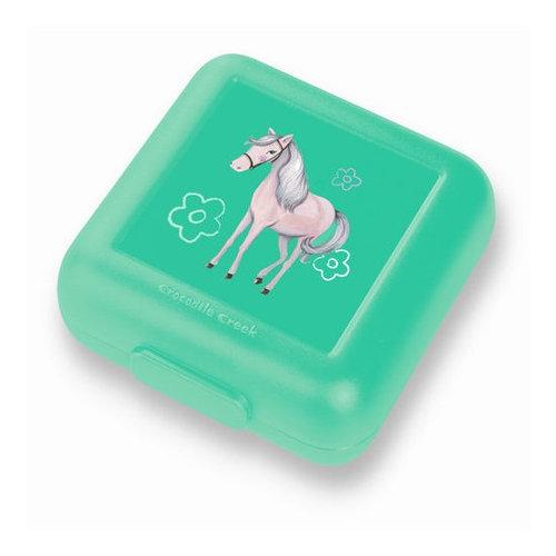 Pudełko na kanapki, wzór konie