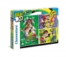 Puzzle SuperColor Ben 10 3x38 (25225)