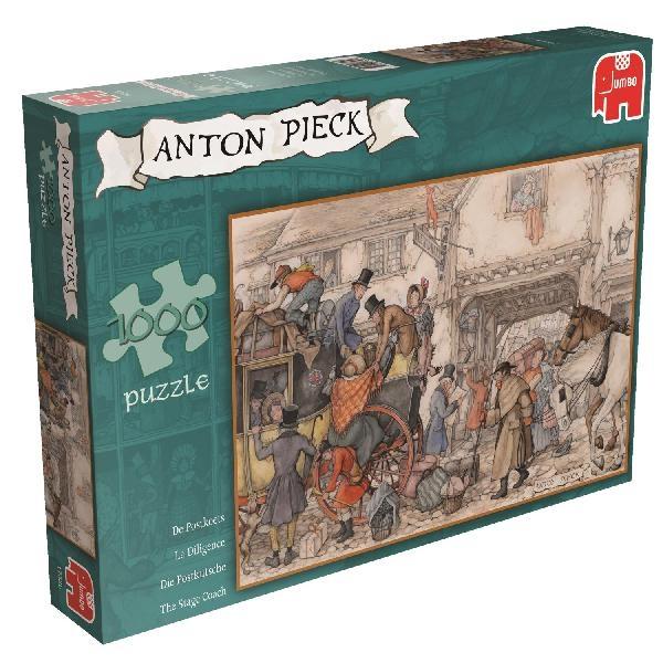 JUMBO 1000 EL. Anton Pieck Dyliżans (17325)
