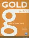 Gold Pre-First exam maximiser with key Chilton Helen, Edwards Lynda
