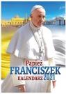 Kalendarz ścienny 2021 - papież Franciszek