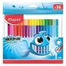 Flamastry Color'Peps Ocean Zip, etui 36 kolorów (MPD-845725)