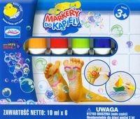 Markery do kąpieli Aqua Studio 6 kolorów (34125)