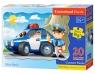 Puzzle Maxi Konturowe Police Patrol-M 20 elementów (02252)