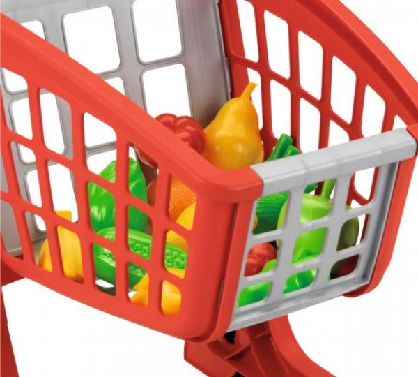 Koszyk z supermarketu ecoiffier