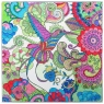 Coloring Craft Obraz Koliber 30x30+ farby 5 kolorów pędzel paleta