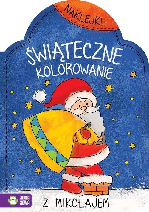 Świąteczne kolorowanie z Mikołajem