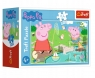 Trefl, Puzzle mini 54: Wesoły dzień Świnki Peppy 1 (19625)
