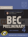 Camb BEC Preliminary 4 SS pack (SB w/ans+CD)