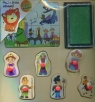 Układanka drewniana Puzzle i pieczątki Królestwo