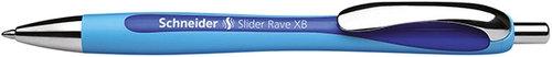 Długopis automatyczny Schneider Slider Rave, XB, niebieski