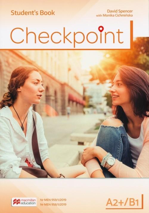 Checkpoint A2+/B1 Student's Book Spencer David, Cichmińska Monika