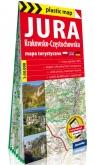 Jura Krakowsko-Częstochowska foliowana mapa turystyczna 1:50 000