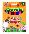 Flamastry Crayola ministempelki 8 sztuk (8125)