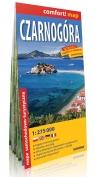 Czarnogóra comfort! map laminowana mapa samochodowo-turystyczna