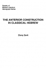 The Anterior Construction in Classical Hebrew