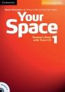 Your Space 1 Teacher's Book + Tests CD Holcombe Garan, Hobbs Martyn