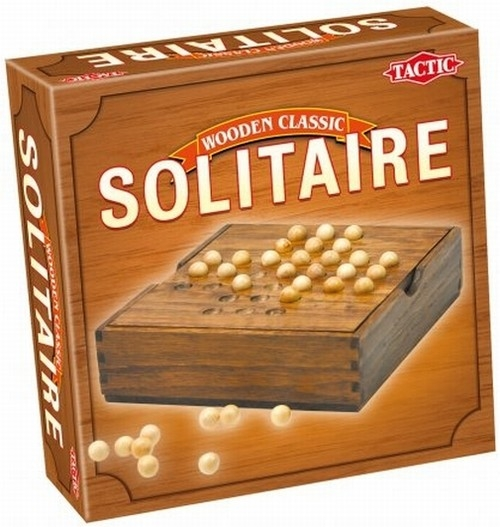 Wooden Classic Solitaire (14025)