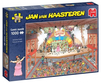 Puzzle 1000 Haasteren Konkurs Piosenki Europejskie