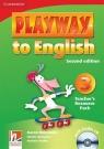 Playway to English 3 Teacher's Resource with CD Holcombe Garan, Gerngross Gunter, Puchta Herbert