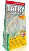 Tatry Mapa panoramiczna laminowana mapa turystyczna; 1 : 28 000