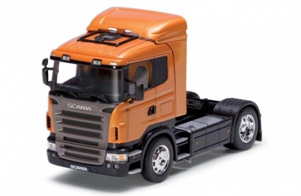 WELLY Scania R470 (metallic dark orange) (32625)
