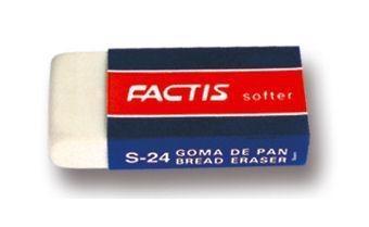 Gumki S-24/10 chlebowe małe (10szt) FACTIS